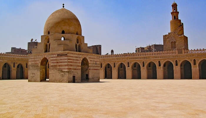 Africa Egypt Mosque North Africa Cairo Ibn Tulun