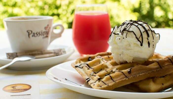 Kaffee Eis