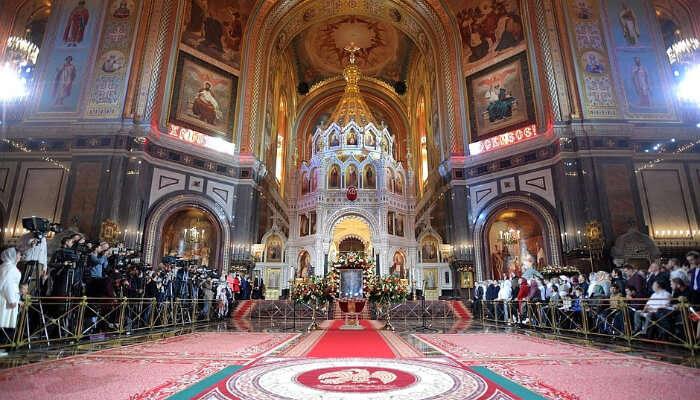 Прекрасный вид на церковь