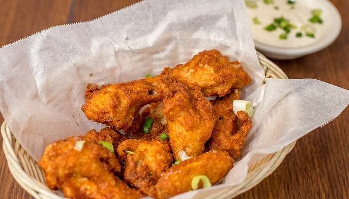 delicious fried snacks