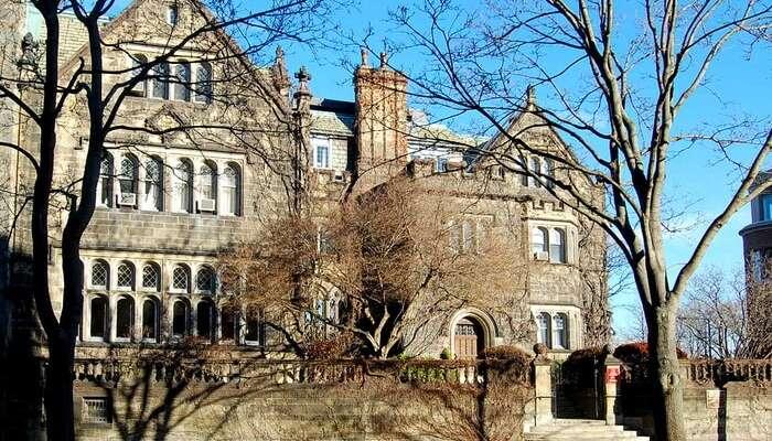 The Boston University Castle
