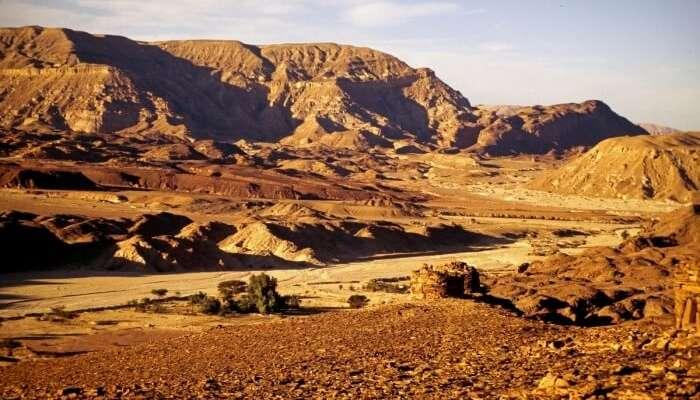 Trek to the summit of the Sinai Mountain