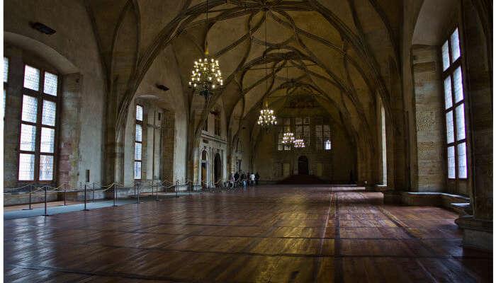 large long halls
