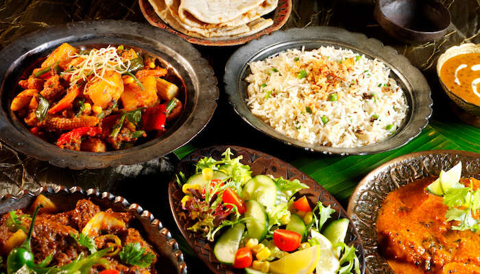 Restaurants that offer Indian food in Austria