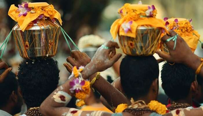 Be A Part Of A Vibrant Procession