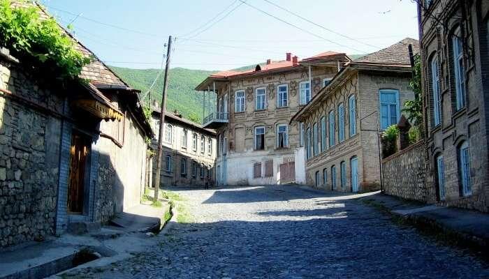 Explore the quaint town of Sheki in Azerbaijan