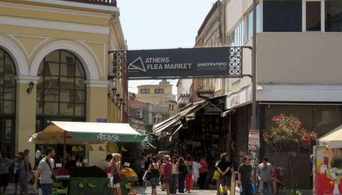 Flea Market at Monastiraki