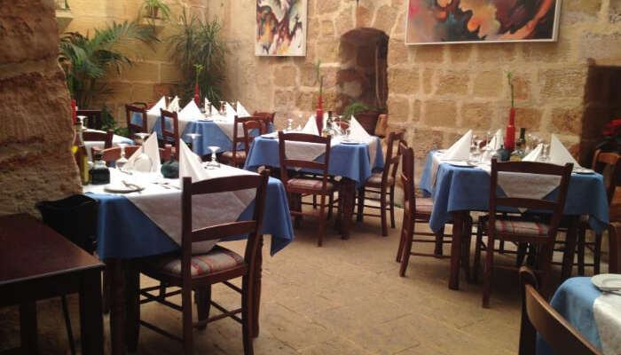 La Stanza Bar & Restaurant in Malta