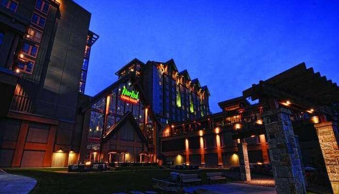 Casino Resort view at night