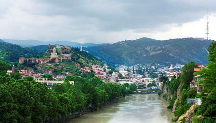 Spend some days at Georgia's capital Tbilisi