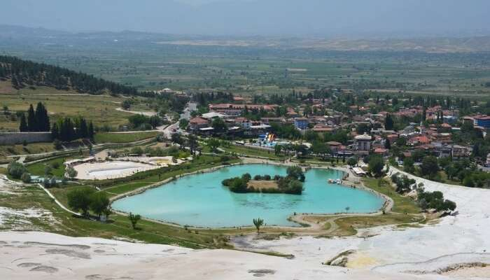 Spend the day at Pamukkale Natural Park