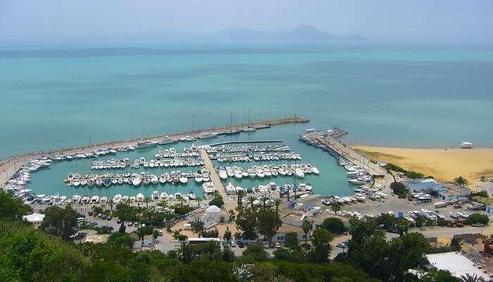 Tunus Deniz Manzarası Yolculuğu
