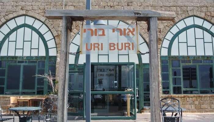Uri Buri Restaurant front view