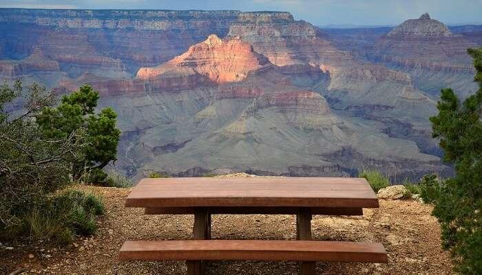 Grand canyon picnic sspot