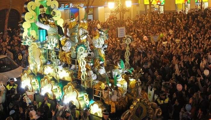 Cabalgata de Los Reyes