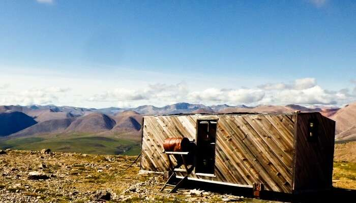 Canol Heritage Trail in Canada