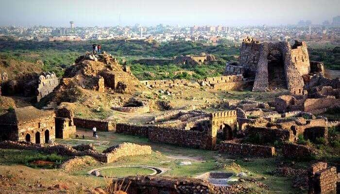 Fort In Tughlaqabad