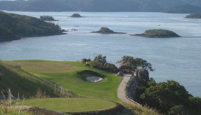Hamilton Island view