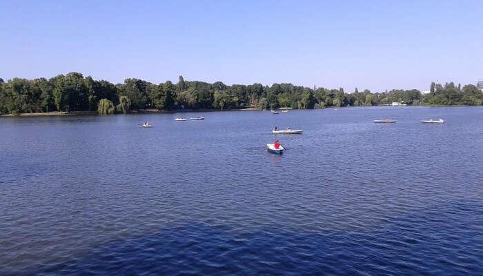 Lake Herastrau Bucharest