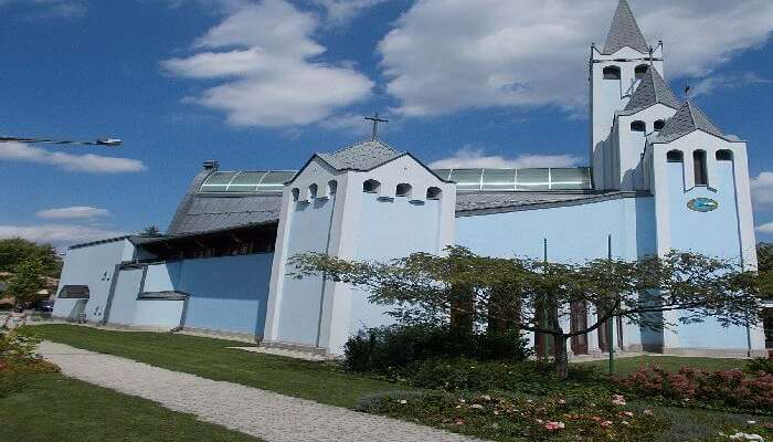 Holy Spirit Church, Heviz