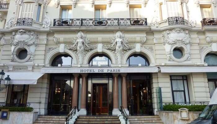 Hotel de Paris view