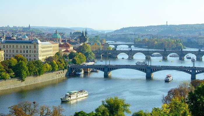 Bridges Charles Bridge Moldova Manes Bridge Prague