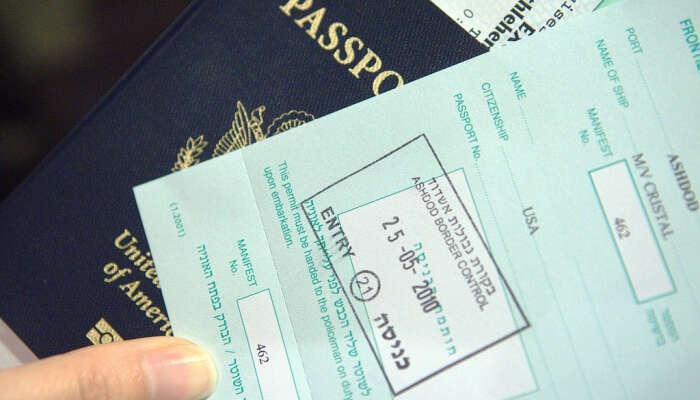 Gardez le visa papier