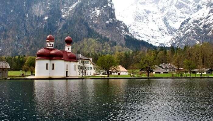 Lake Königssee view
