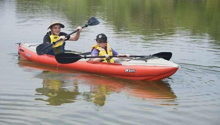Mdumbi River Kayak