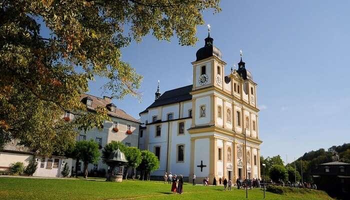 Pilgrimage Church Maria Plain