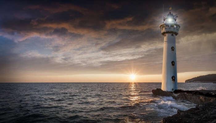 Port Border Rear Range Lighthouse