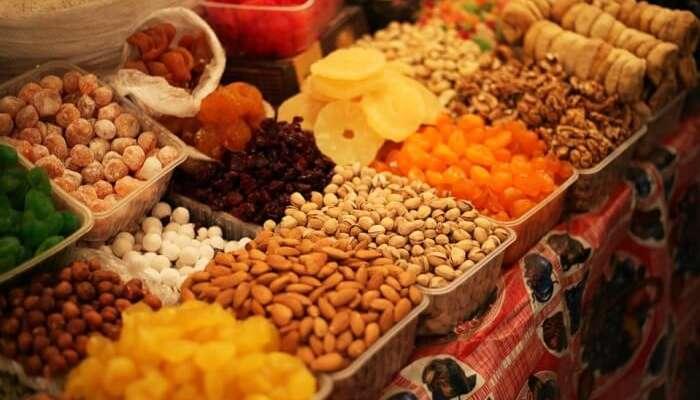 Visit a food market