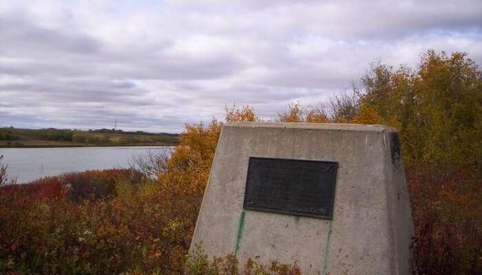 View of Waskahegan Trail in Canada