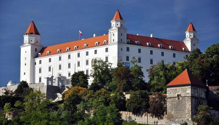Where Is Bratislava Castle