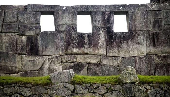 Portals Machupicchu Inca Architecture Stones
