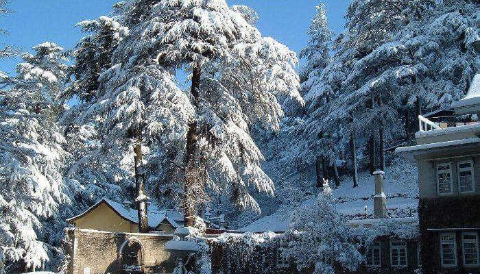Snowfall in Shimla_24th oct