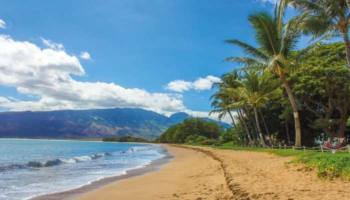 view of maui in hawaii