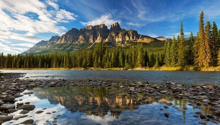 The Castle Mountain Canada