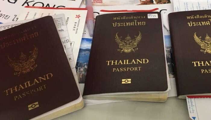 Visa pentru Thailanda