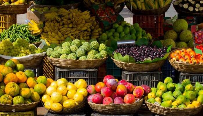 Fruits and vegetables view
