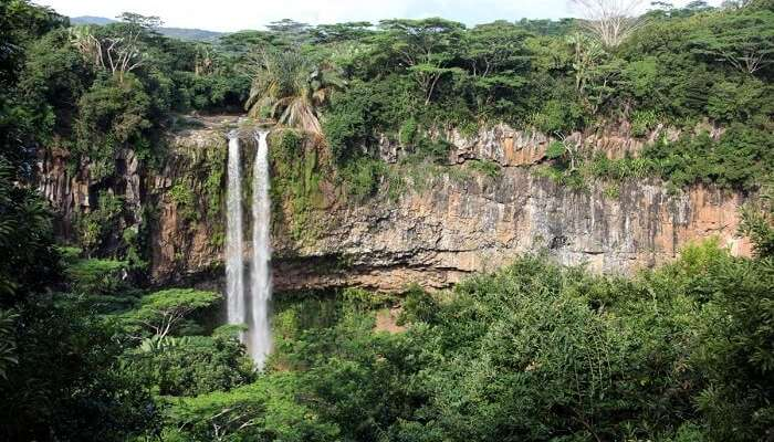 Features Of Chamarel Waterfalls
