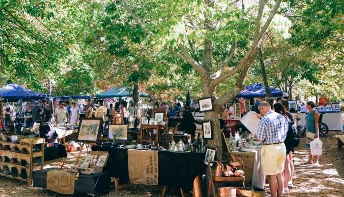 Franschhoek Village Market in Cape Town