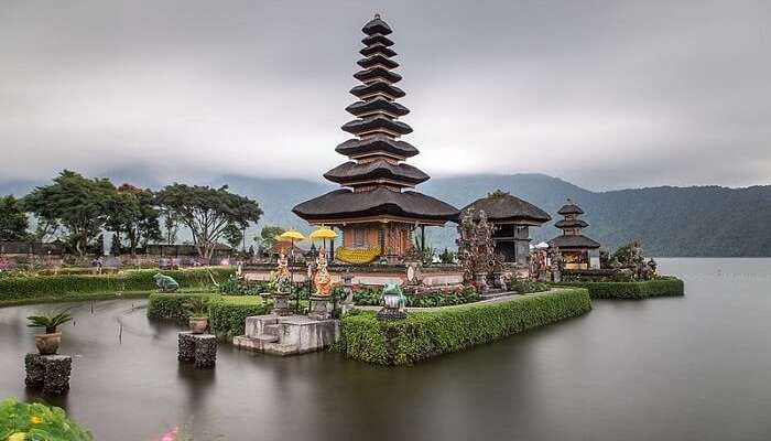 famous temple in Bali