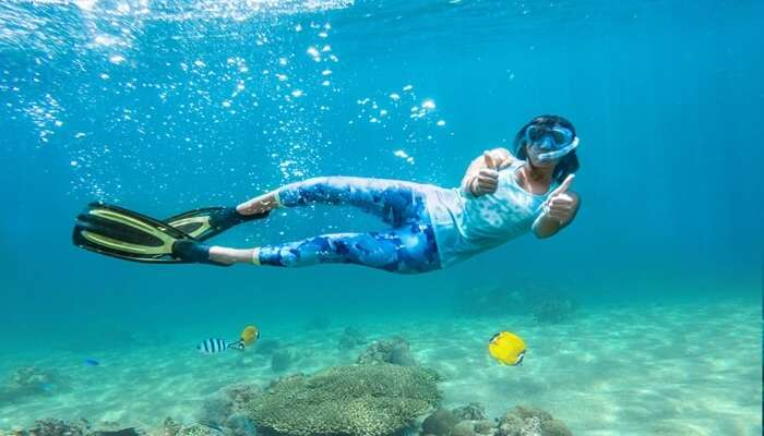 Indulge In Snorkeling