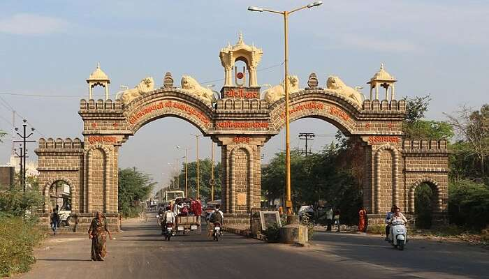 famous gate in the city holidays Places gujarat india