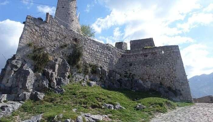 Roman heritage at the Klis Fortress