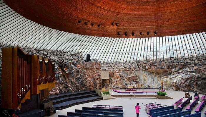 Temppeliaukio Church View