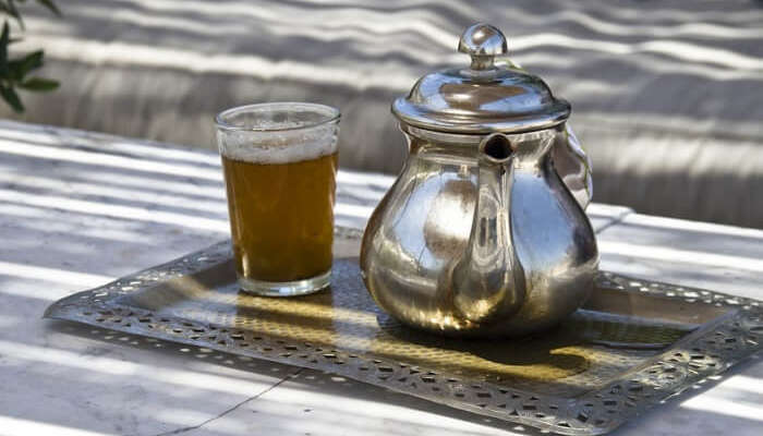 Mint Tea Teapot Morocco