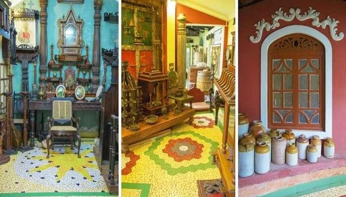Goa displaying artifacts