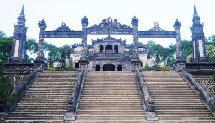 stairway to a temple